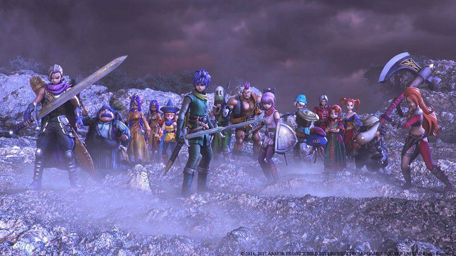 Dragon Quest Heroes II persos