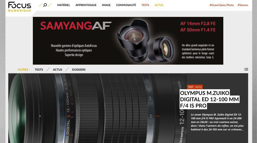 Le nouveau focus est en ligne acaa2ea9