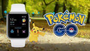 Pokémon GO disponible sur Apple Watch