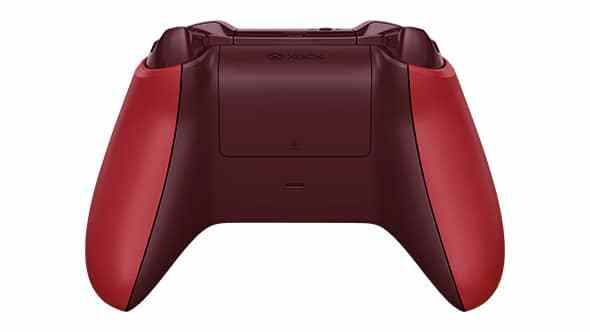 Manette Xbox One Rouge dos