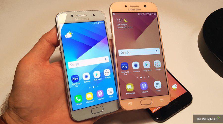 Ces Samsung Galaxy A3 A5 Face