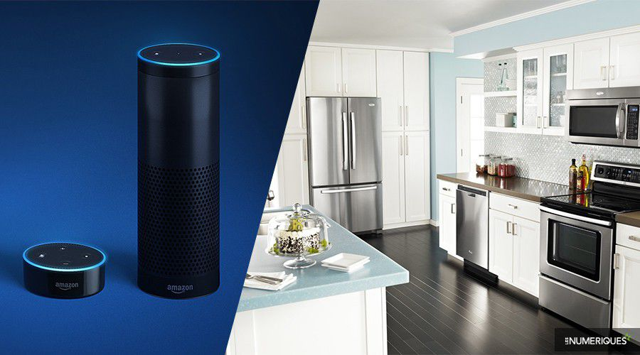 Actu Whirlpool Amazon Alexa