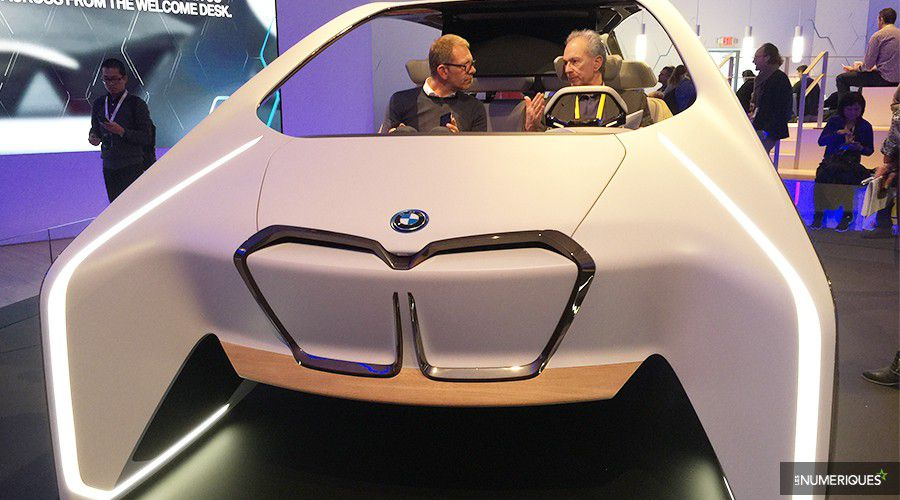 ces 2017 bmw d voile l 39 avenir avec son concept car i inside future. Black Bedroom Furniture Sets. Home Design Ideas