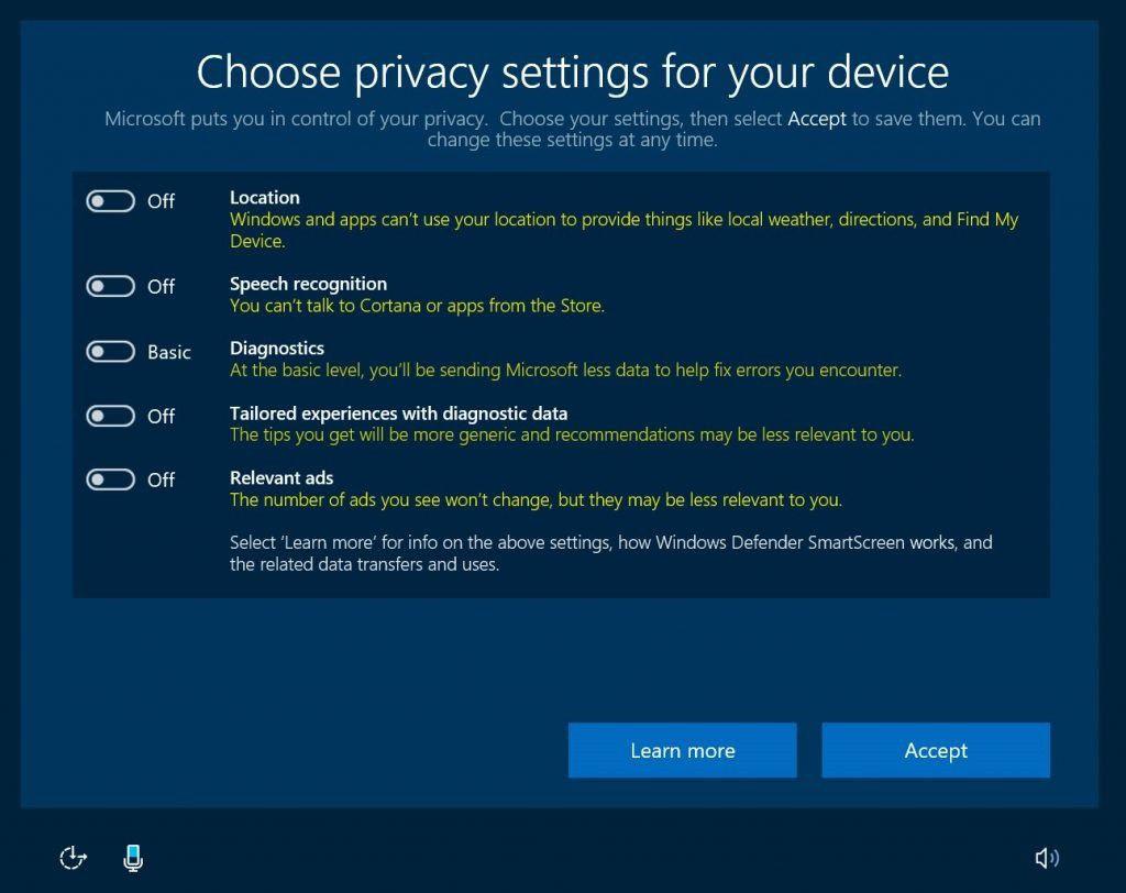 Windows 10 parametres telemetrie