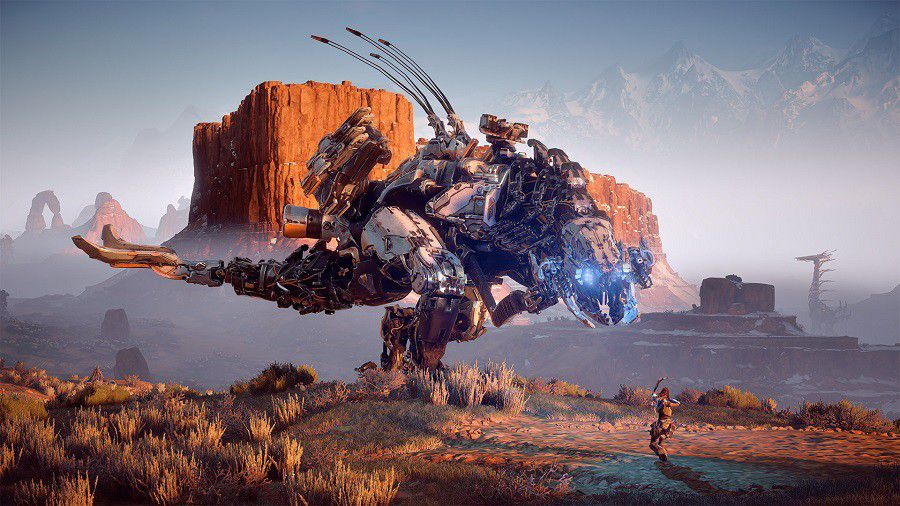 Horizon zero dawn screen