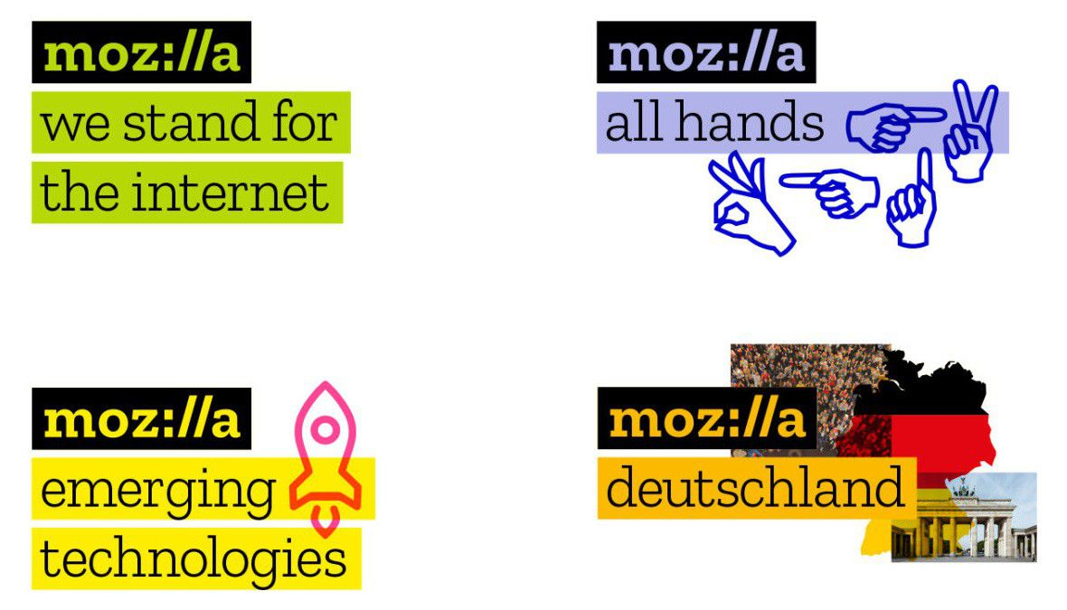 Mozilla logo 2017 devises
