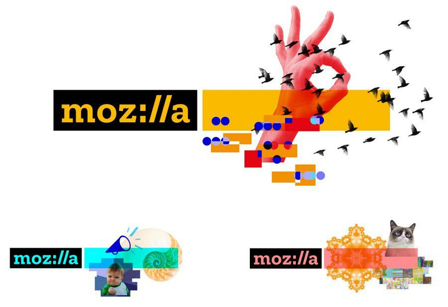Mozilla logo 2017 graphs