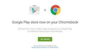 Tous les chromebooks cuvée 2017 seront compatibles avec le Play Store
