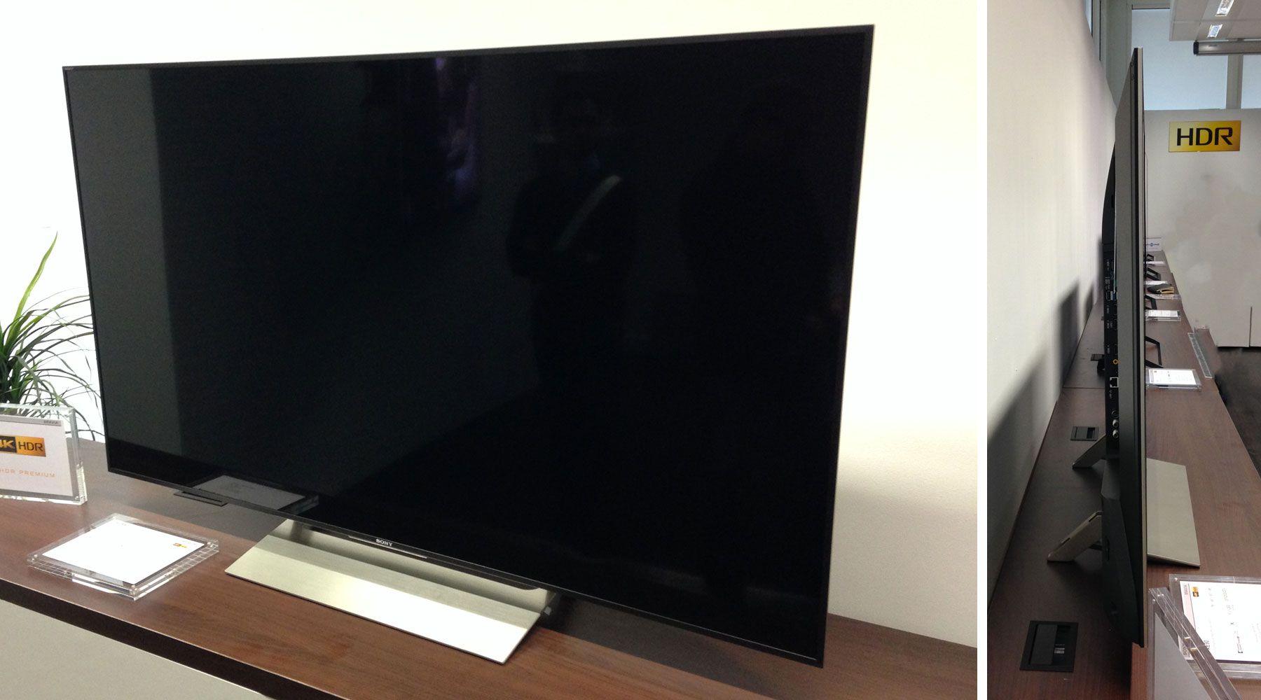 sony kd-55xe9005, un téléviseur lcd full led plus abordable