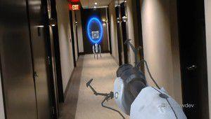 Jouer à Portal en réalité augmentée