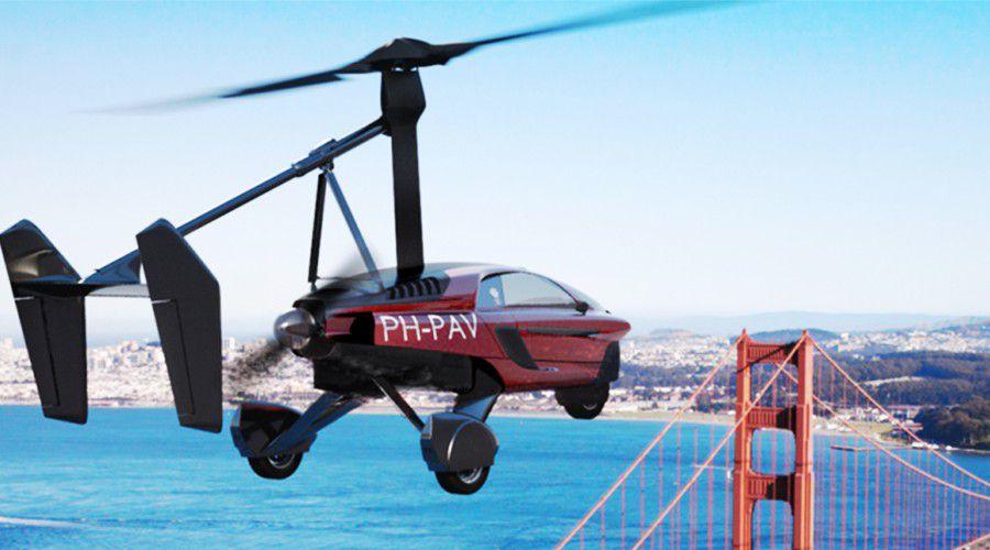 pal v premi re voiture volante commercialis e au grand public les num riques. Black Bedroom Furniture Sets. Home Design Ideas