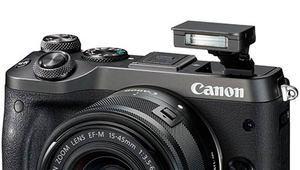 EOS M6, le nouvel hybride Canon sans viseur et plus compact
