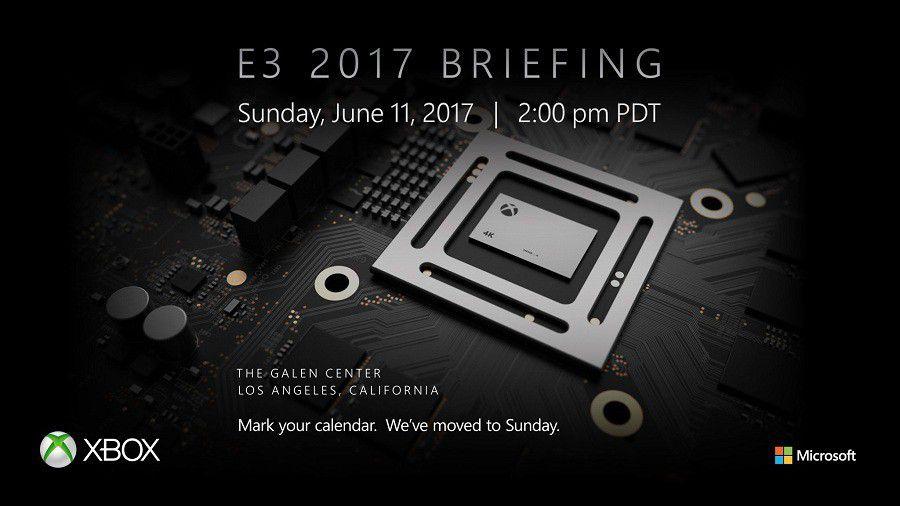 Tweet Xbox Scorpio E3