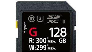 CP+– Sony SF-G: des cartes SD UHS-II ultra-rapides à 300 Mo/s!