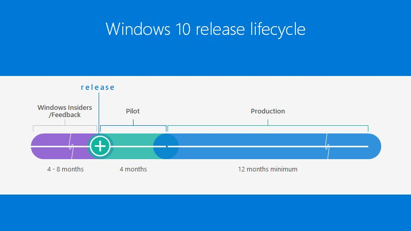 Windows 10 update cycle