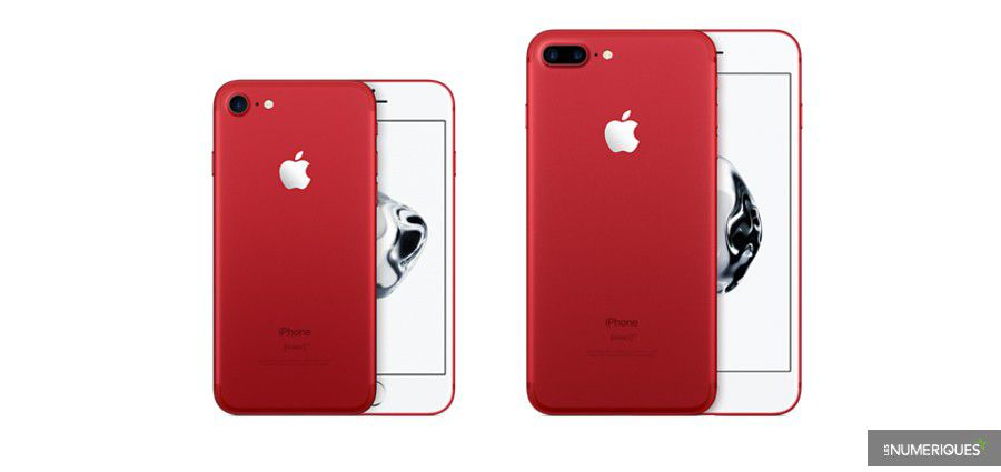 apple lance des iphone se 32 et 128 go et un iphone 7 product red. Black Bedroom Furniture Sets. Home Design Ideas