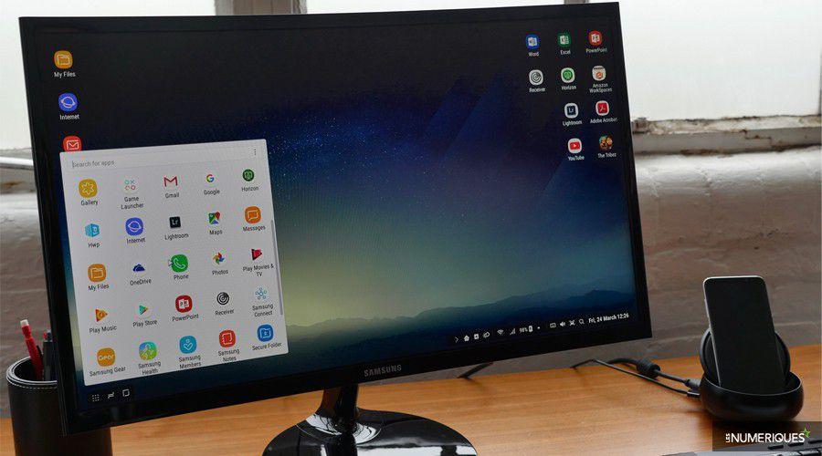 Samsung dex : quand le galaxy s8 devient un ordinateur de bureau