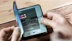 Un smartphone à écran pliable? Pas avant 2019 selon Samsung