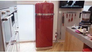 Kitchenaid s'inspire des années 50 pour le réfrigérateur Iconic Fridge
