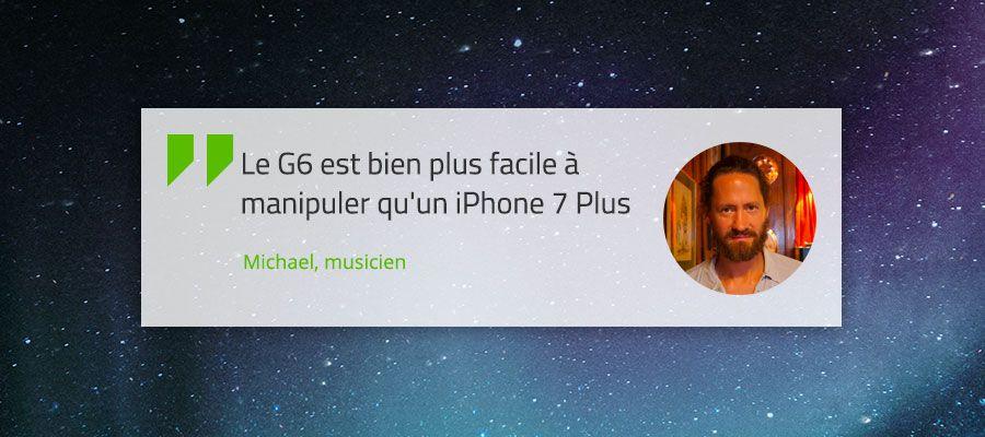 Verbatim Avis Michael LG G6