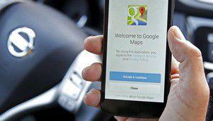 Google Maps se rappelle où vous êtes garés