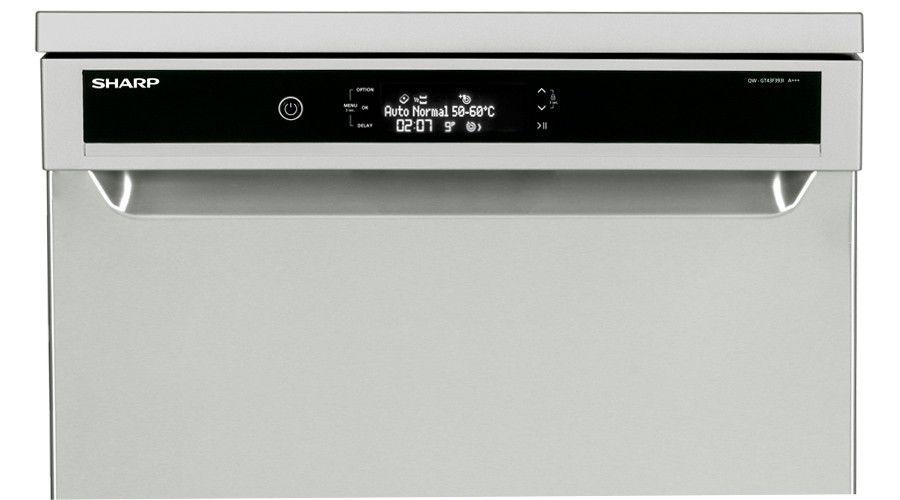 un niveau sonore inf rieur 39 db sur le nouveau lave vaisselle sharp les num riques. Black Bedroom Furniture Sets. Home Design Ideas