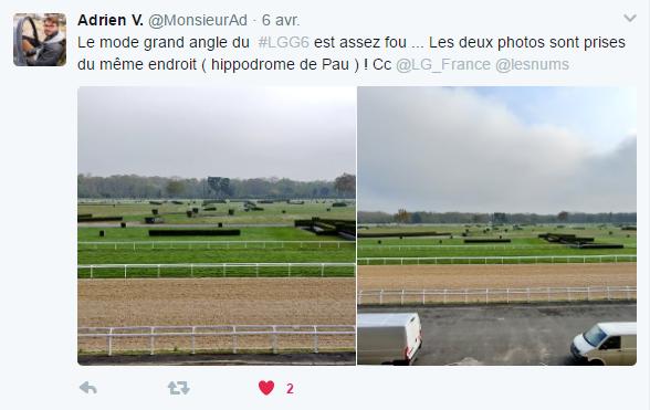 Post Twitter Adrien APN LG G6
