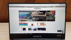 Labo: l'écran du Gigabyte Aero 15 nous impressionne