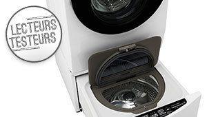 Lecteurs-testeurs: essayez le concept Twin Wash des lave-linge LG
