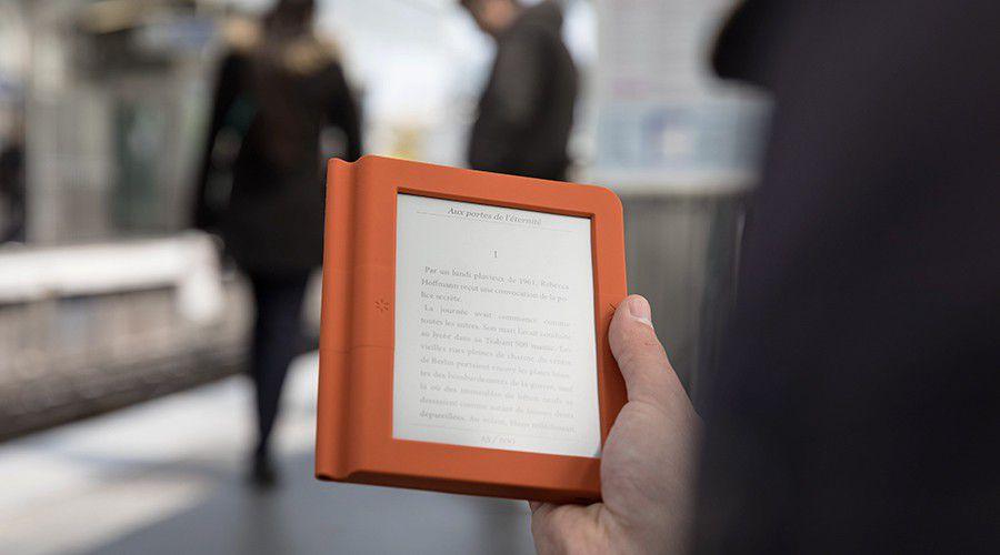 livre sur liseuse nolim