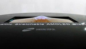 Oled étirable, Oled 3D sans lunettes et LCD 2250 ppp : Samsung innove