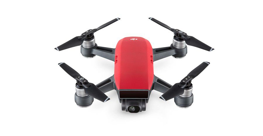 DJI%20Spark%20Lava%20Red%20 %20Front%203 4