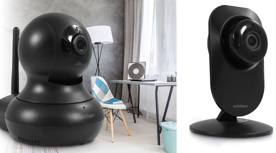avidsen renouvelle sa gamme de cam ras de surveillance les num riques. Black Bedroom Furniture Sets. Home Design Ideas