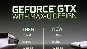 Computex 2017 – Nvidia annonce les PC portables GeForce GTX Max-Q
