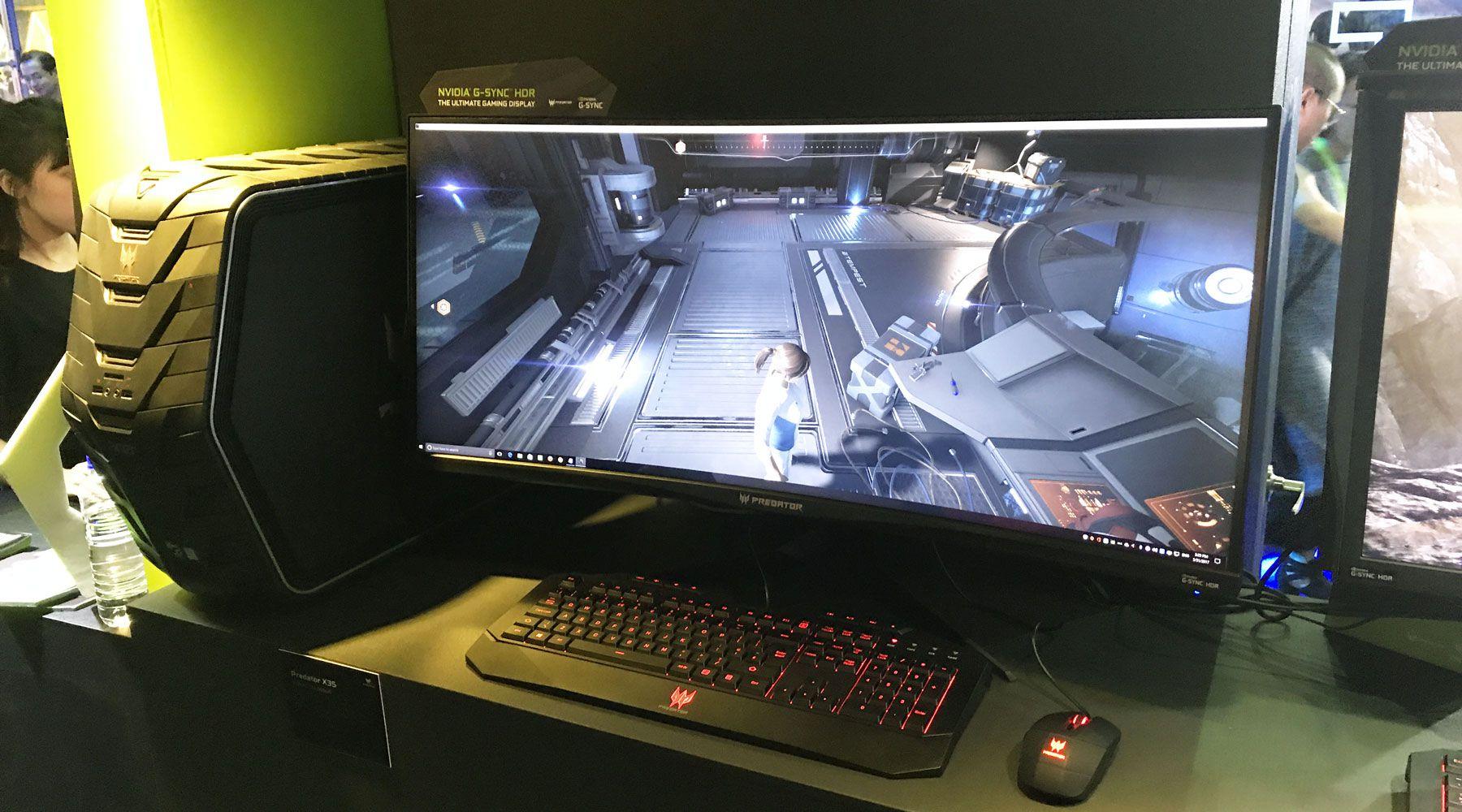 Computex 2017 – Des moniteurs 35 pouces G-Sync HDR chez Asus et Acer