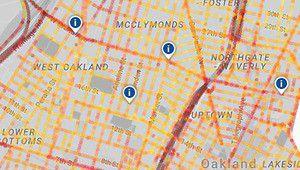 Google cartographie la pollution de l'air