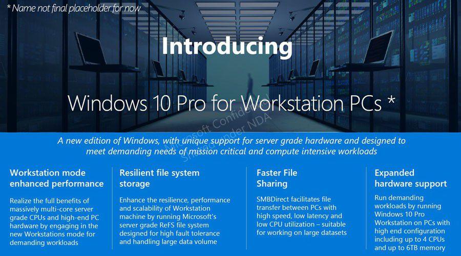 3 nouvelles versions de Windows pour les professionnels?