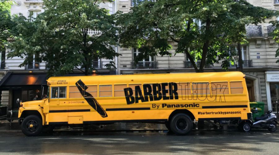 News panasonic barber truck d