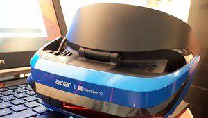 """Découverte du casque de """"réalité mixte"""" d'Acer et Microsoft"""