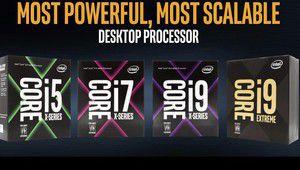 Intel Core i9: une sortie qui s'étale jusqu'en octobre