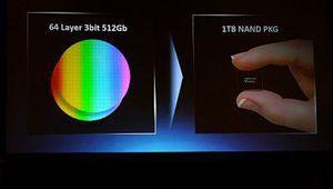 Samsung a commencé la production de sa V-NAND de 4e génération