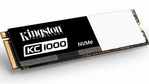 Kingston sort le SSDNow KC1000, un SSD NVMe garanti 5 ans