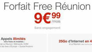 Free veut réduire la facture mobile des Réunionnais