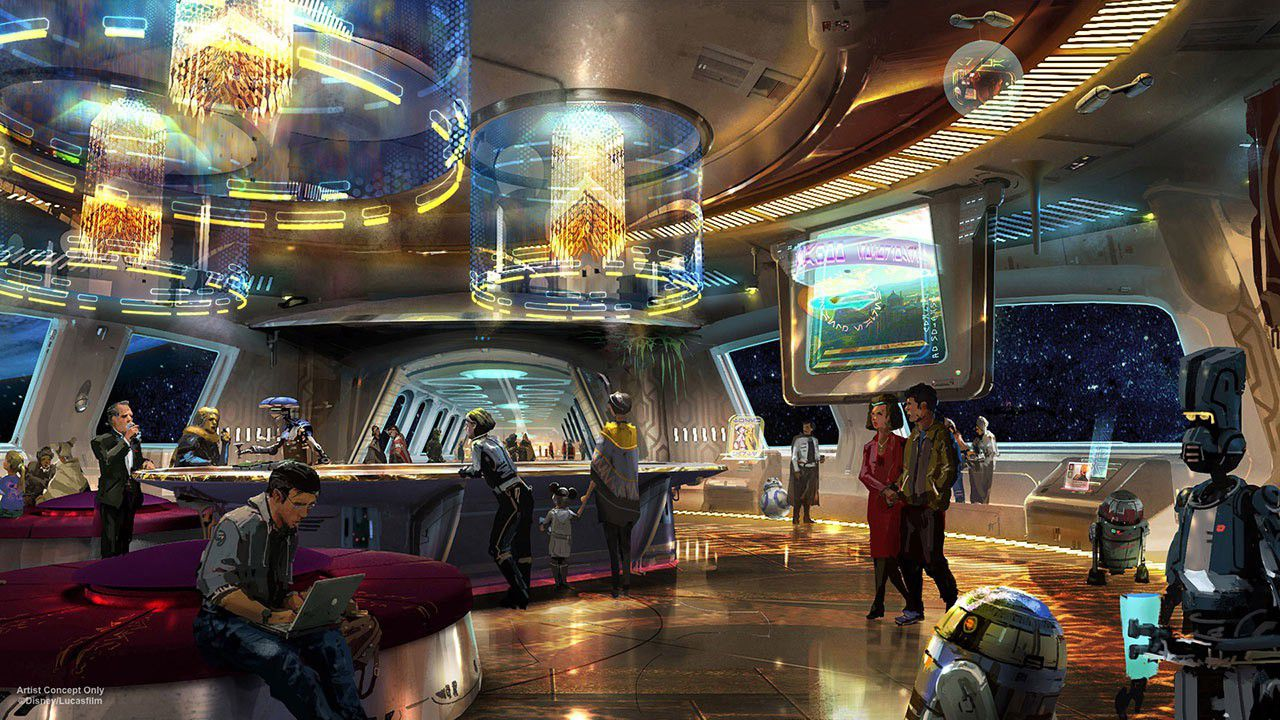 Star wars hotel disney 11