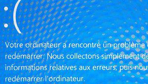 Sondage: Windows 10 et les blue screens
