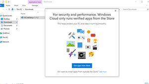 Windows 10 S: désinstaller oui, réinstaller non