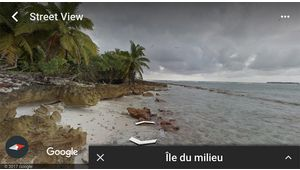 La dernière version de Google Earth disponible sur iOS