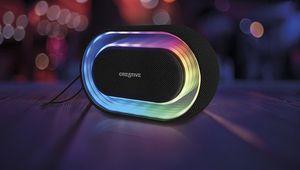 Halo, l'enceinte portable lumineuse de Creative