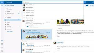 Lancement d'une nouvelle version d'Outlook.com