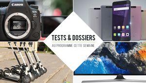 7 jours de tests – Samsung MU6105, ZTE Blade V8, Canon EOS 6D Mark II